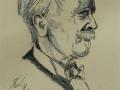 """36. """"Karl May Portrait Seitenansicht"""""""